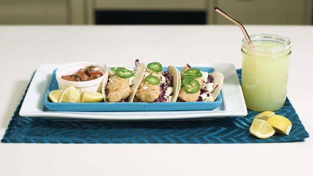 Fish Tacos With Seasoned Slaw
